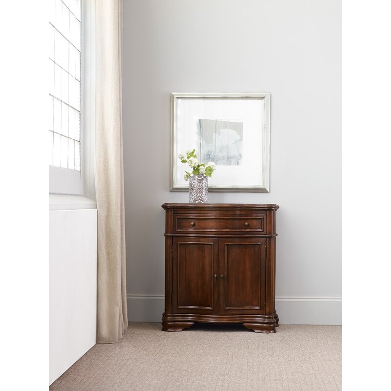 exciting hall cabinets furniture | Hooker Furniture Waverly Place Shaped Hall Accent Cabinet ...
