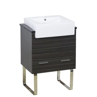 Xena Farmhouse Plywood-Melamine 23 Single Bathroom Vanity Base by American Imaginations