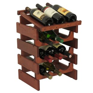 Dakota 12 Bottle Floor Wine Rack by Woode..