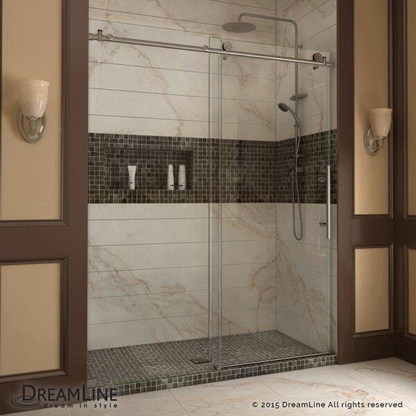 Dreamline Enigma X 48 X 76 Single Sliding Frameless Shower Door