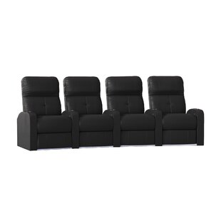 Home Theater Row Seating Row of 4 by Latitude Run