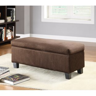 Latitude Run Lola New Fabric Storage Bench