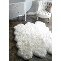 Mercer41 Stockton Sheepskin Rug Reviews Wayfair