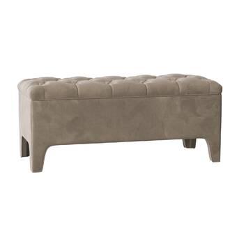 Wrought Studio Soma Upholstered Bench Reviews Wayfair