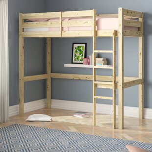 Chester European Single High Sleeper Bunk Bed By Just Kids