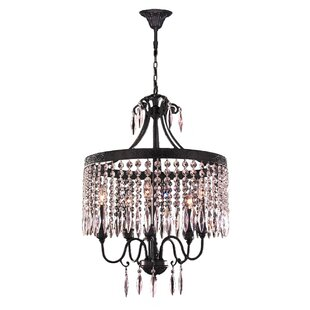 Arreola 5-Light Crystal Ch..