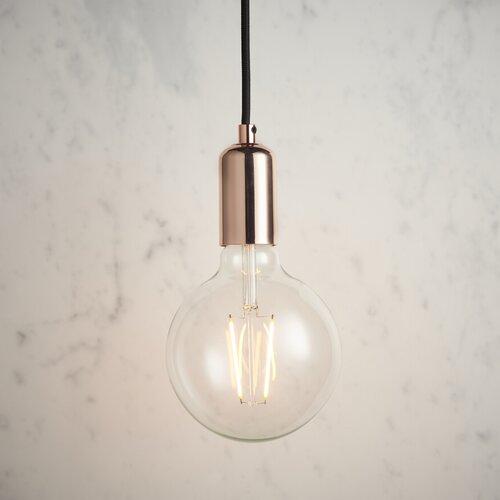 Glühlampen-Pendelleuchte 1-flammig Daphne | Lampen > Leuchtmittel > Mehr-Leuchtmittel | Williston Forge