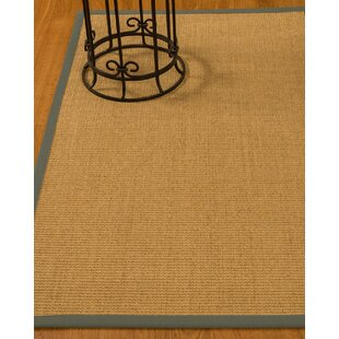 Busey Hand-Woven Beige Area Rug by Longshore Tides