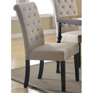 Pam Upholstered Dining Chair (Set of 2) b..