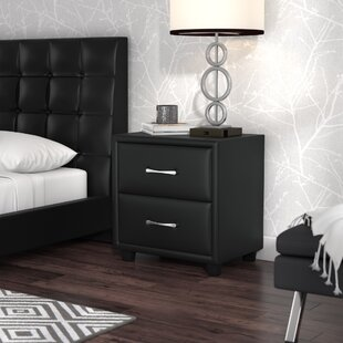 Amezcua 2 Drawer Nightstand