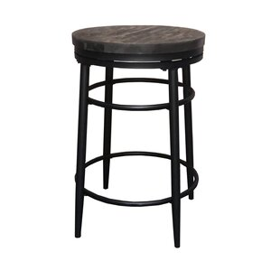 Henrik 26 Swivel Bar Stool by Williston Forge