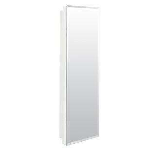 Ginnifer 12 x 36 Recessed or Surface Mount Medicine Cabinet by Orren Ellis
