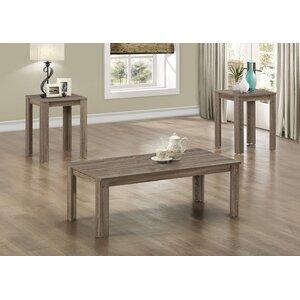 Bullsbrook 3 Piece Coffee Table Set