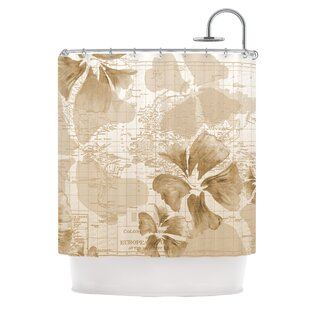 Flower Power Single Shower Curtain