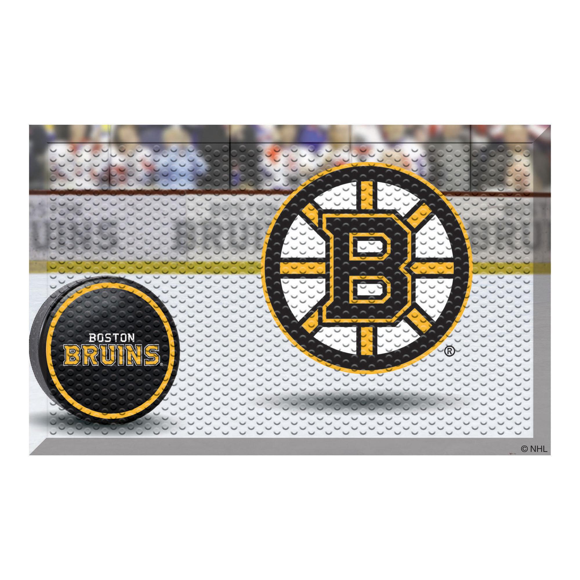 Fanmats Nhl Boston Bruins 30 In X 19 In Non Slip Outdoor Door Mat Wayfair