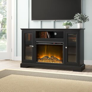 Rita TV Stand for TVs up to 55 Electric with Fireplace by Birch Lane™ Heritage