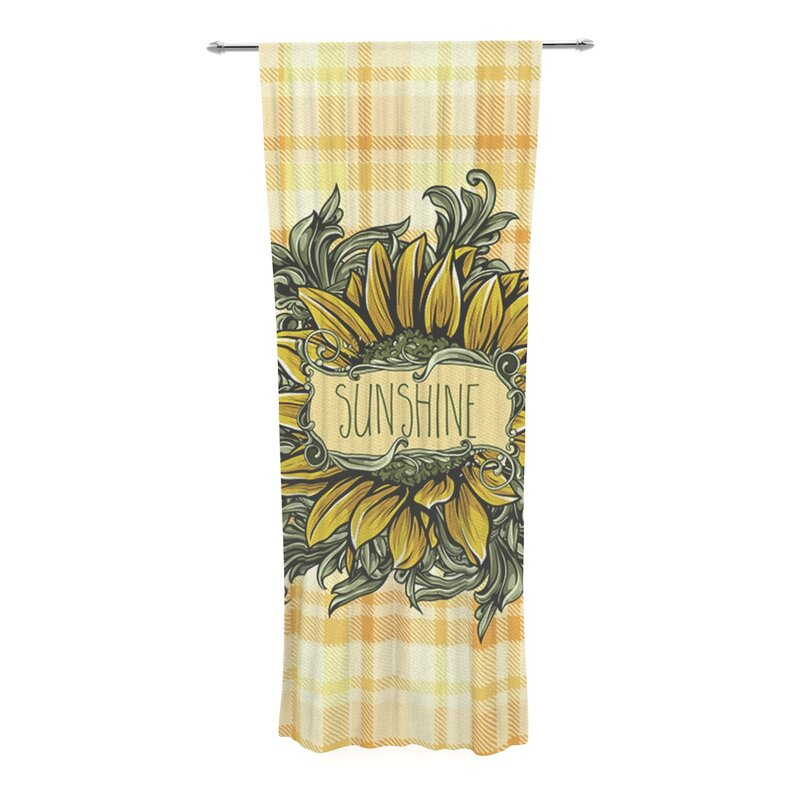 East Urban Home Nick Atkinson Sunflower Sunshine Graphic
