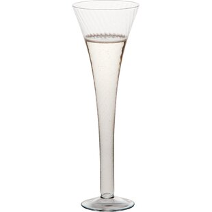 Optic Champagne Flute Glass (Set Of 6)
