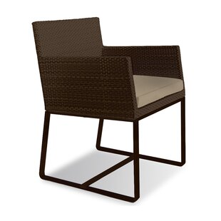 Aegean Patio Dining Chair with Cushion (Set of 2)