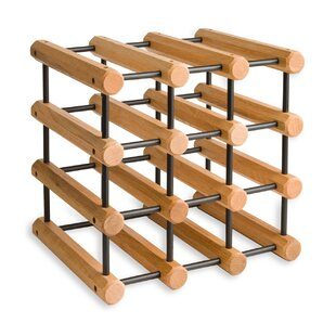 Sollars 12 Bottle Tabletop Wine Rack by L..