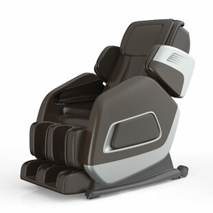 Leather Full Body Heated Massage Chair by Symple Stuff Today Sale Only
