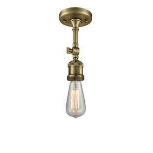 Arguelles 1-Light Semi Flush M..