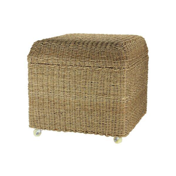 Prime Seagrass Ottomans Wayfair Machost Co Dining Chair Design Ideas Machostcouk