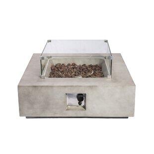 Discount Holman Concrete Propane Fire Pit Table