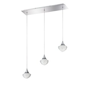 Icicle 3-Light Pendant by Kendal Lighting