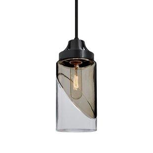 Wrought Studio Amaryllis 1-Light Cylinder Pendant