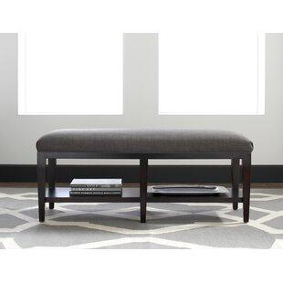 Preston Upholstered Shelves Storage Bench