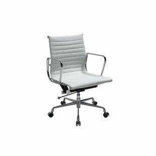 Manhattan Comfort Metro AL Mid-Back Desk Chair