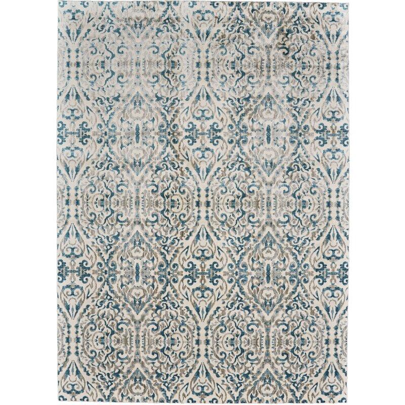 Saleya Turquoise Area Rug: Feizy Keats Turquoise Area Rug & Reviews