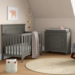 Veendam 5-in-1 Convertible 2 Piece Crib Set
