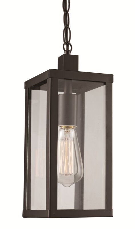 Mercury row hampstead 1 light outdoor hanging lantern reviews hampstead 1 light outdoor hanging lantern mozeypictures Images