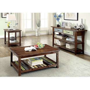 Alexa 3 Piece Coffee Table Set