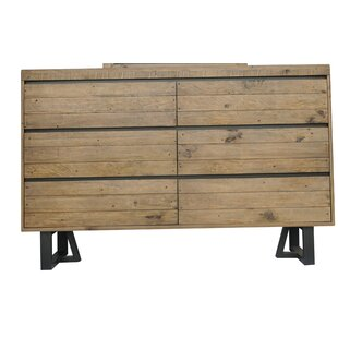Best Deals Bono 6 Drawer Double Dresser by Foundry Select