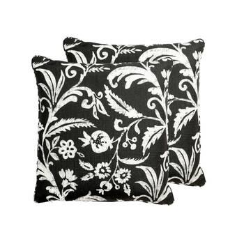East Urban Home Optimism Inspirational Indoor Outdoor Throw Pillow In Pink Diamond In 20 X 20 Wayfair