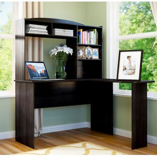 Marlton L-Shape Desk With Hutch by Andover Mills Herry Up