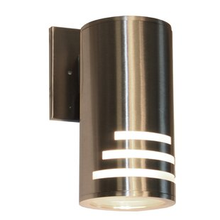 Epsilon 1-Light Outdoor Sconce By Orren Ellis Outdoor Lighting