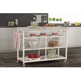 Droitwich Kitchen Island with Granite Top by August Grove®