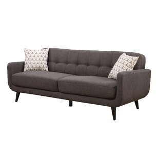 Buy clear Tifton Mid-Century Sofa by Ivy Bronx Reviews (2019) & Buyer's Guide