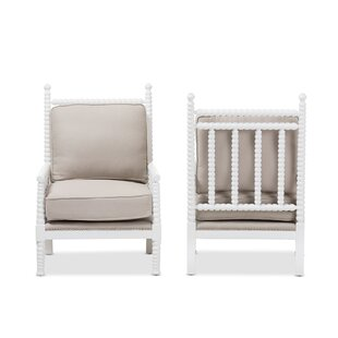 Baxton Studio Geremia Armchair (Set of 2)