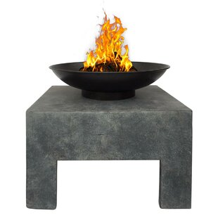 Clay Charcoal And Wood Burning Fire Pit Image