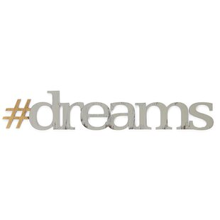 #Dreams Wall Décor