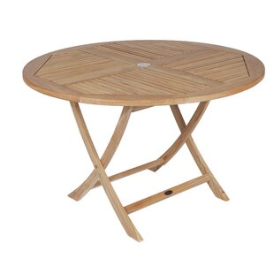 Lago Vista Folding Teak Bistro Table