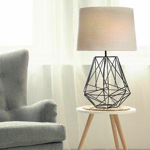 Shop For Barnett Geometric 26 Table Lamp By Wrought Studio