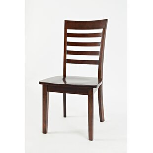 Dunster Ladder Back Side Chair (Set of 2) Alcott Hill