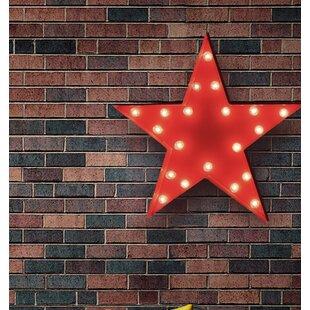 Price Check Star 20-Light Indoor/Outdoor Marquee Light By TrekBeds