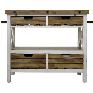 Keener Kitchen Island Manufactured Wood